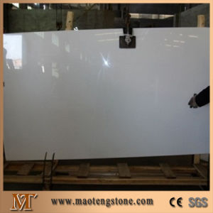 Microlite Pure White Marble Nano Crystallized Glass Panel pictures & photos