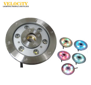 12W/24W High Power RGB IP68 Stainless Steel LED Underwater Fountain Lighting pictures & photos