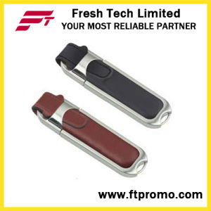 Leather Shaped USB Flash Drive (D501) pictures & photos