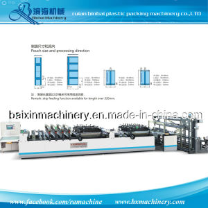 High Speed Central Sealing Bag Making Machine/Center & Bottom Sealing Bag Making Machine pictures & photos