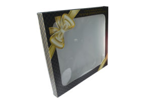 Paper Gift Packaging Box with PVC Window pictures & photos