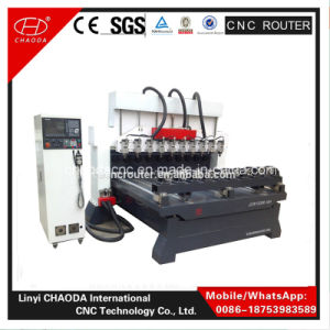 Cheap 4 Axis Multi Heads Furniture Leg Carving Machine Price pictures & photos