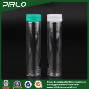110ml Transparent Pet Plastic Pill Bottle Capsule Bottle Chewing Gum Bottle with Tear off Cap pictures & photos