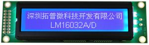 160X32 Graphic LCD Display COB Type LCD Module (LM16032D) pictures & photos