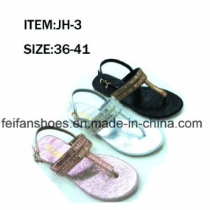 2017 Newest Lady′s Fashion Casual Shoes Sandals (JH1209-3) pictures & photos