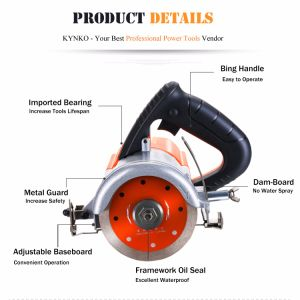 110mm/1240W Electric Power Tools Marble Cutter (Adjustable) pictures & photos