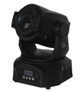 LED Stage Lighting 90W 12CH LED Moving Head Spot Stage Light pictures & photos