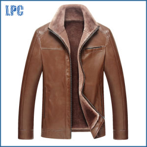 Wholesale Mens Fashion Leather Jacket pictures & photos