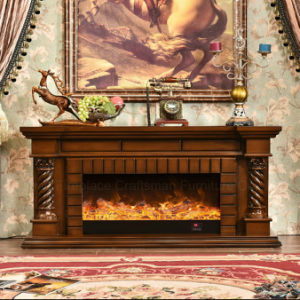 Modern TV Stand Heater Electric Fireplace with Ce Approved (336S) pictures & photos