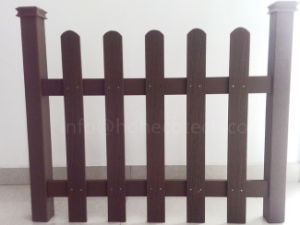 Easy Installation Wood Plastic Composite Fencing pictures & photos