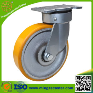 6inch Heavy Duty Swivel Hand Trolley Cast Iron Wheel Caster pictures & photos