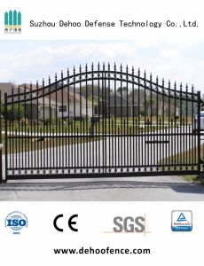 Beautiful Ornamental Economic Residential Fence Gate with High Quality pictures & photos