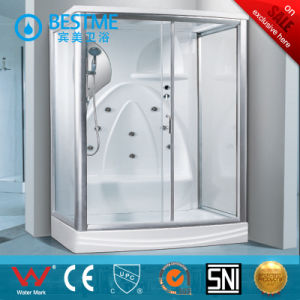 Good-Sale White Simple-Functions Bathroom Steam Room (BZ-5026) pictures & photos
