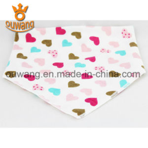 Cotton Baby Bandana Drool Bibs Unisex Absorbent Cute Baby Bibs pictures & photos