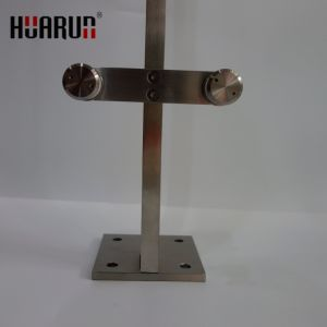 Stainless Steel Material and Flooring Mounted handrail base plate (HR-1435) pictures & photos