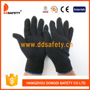 Ddsafety 2017 Black Cotton or Polyester Gloves pictures & photos