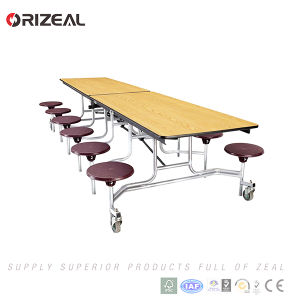 Orizeal School Used Mobile Canteen Table pictures & photos
