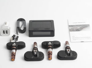 Golden Internal Sensor TPMS Tyre Pressure Monitor System Solar Power pictures & photos