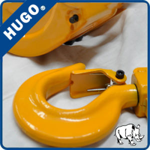 Hand Chain Hoist Grade 80 Chain Forged Drop Hook Manufacture Price pictures & photos