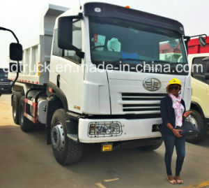 Used 340HP FAW 10 Wheels Dump Truck Tipper 6X4 with Good Condition for Africa pictures & photos