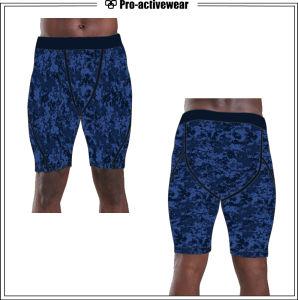 OEM Service Wholesale Men Blank Sweat Compression Shorts pictures & photos