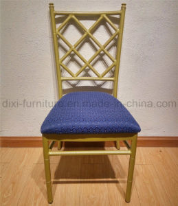 Whole Sale Aluminum Tiffany Chair with Net Back Structure and Cushion pictures & photos