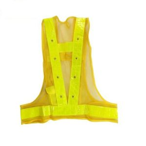 High Quality of LED Safety Vest with Closure pictures & photos
