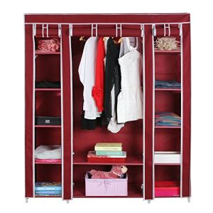 High Quality Folding Cabinet Cloth Storage Modern Bedroom Wardrobes