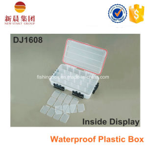 Large Size Adjustable Compartment Clear Box Case pictures & photos