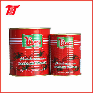 Canned Safa Tomato Paste of 400g pictures & photos