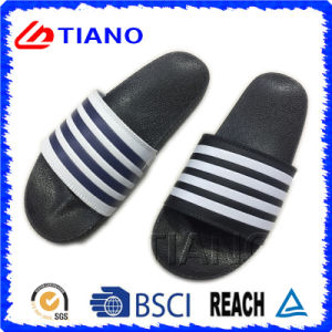 High Quality Casual Indoor PVC Men Slipper (TNK35717) pictures & photos