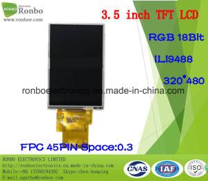 "3.5"" 320X480 RGB 8/16/18bit 45pin TFT LCD Display pictures & photos"
