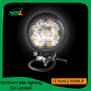 Auto LED Working Lights Spot Flood Beam 27W 4 Inch pictures & photos