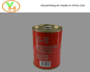 High Quality Manufacturer Wholesale Canned Tomato Paste Canned Food pictures & photos
