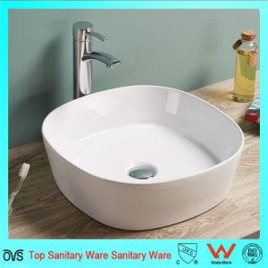 Popular The Austalia Market Ceramic Wash Bowl Bathroom Silm Thin Edge Countettop Basin pictures & photos