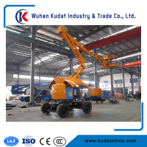 16m Articulating Boom Self Propelled Aerial Work Platform pictures & photos