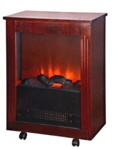 European Style Free Standing Electric Fireplace Heater pictures & photos