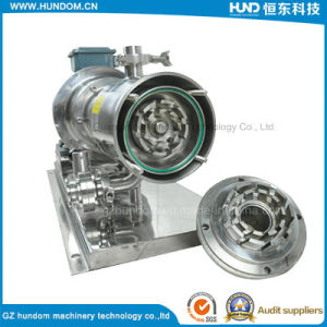 Stainless Steel Inline High Shear Three Stage Homogenizer Pump pictures & photos