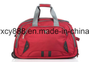 Durable Wheeled Trolley Luggage Outdoor Travel Sports Handbag Bag (CY3603) pictures & photos