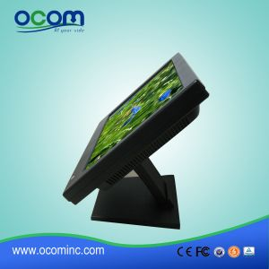 "Adjustable Stand 15"" Touch LCD Display pictures & photos"