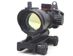 Acog W/Qd 11 & 20mm Tactical Red/Green DOT Sight Scope pictures & photos