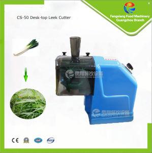 CS-50 Small Type Leek Cutting Machine, Shallot/Chilli Cutter, Garlic Shredder pictures & photos