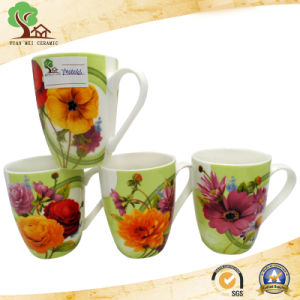 New Bone China Ceramic Mug with Cylindrical Design pictures & photos