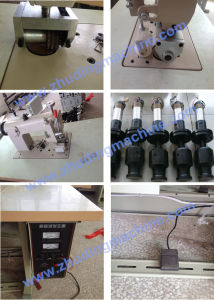 Manual Sealing Non Woven Bag Lace Making Welding Sewing Machine pictures & photos