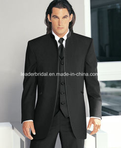 New Groom Stand-up Collar Wedding Tuxedos Man Suit Groomsman Sz01 pictures & photos