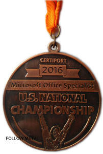 U. S. National Challenge Medal for Microsoft Office Specialist