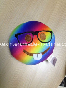 Custom Size Colorful Plush Toy Emotion Emoji Pillow pictures & photos