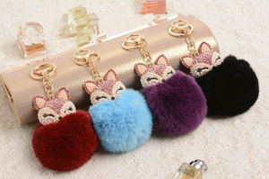 Colorful Fake Rabbit Fur Pompom POM POM Balls pictures & photos