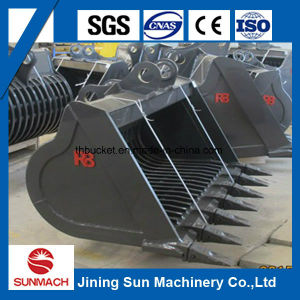 China Excellent All Kinds Excavator Attachments, Excavator Skeleton Bucket pictures & photos