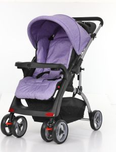 European Standard Comfortable Baby Pushchair with Car Seat pictures & photos